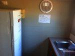 Kitchen, Fridge & Sink.