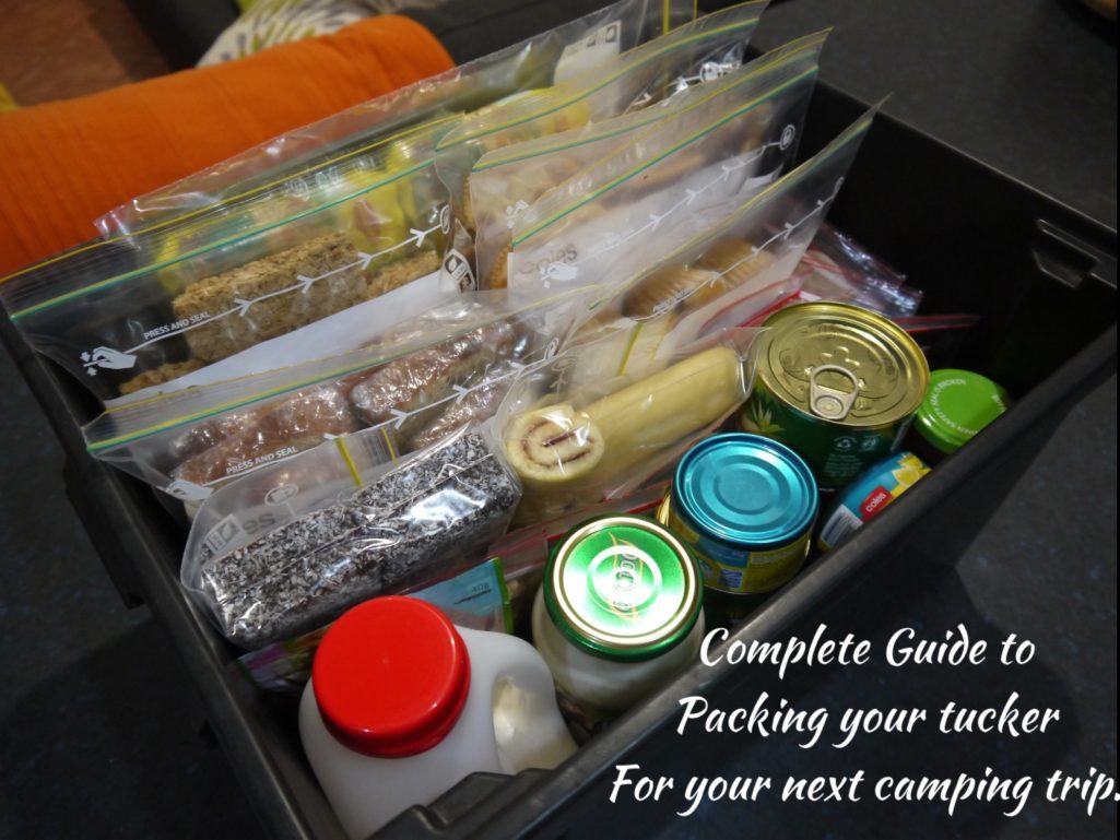 Tucker packing Guide – For your next camping trip.