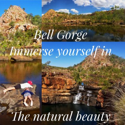 Bell Gorge, immerse yourself in the natural beauty :